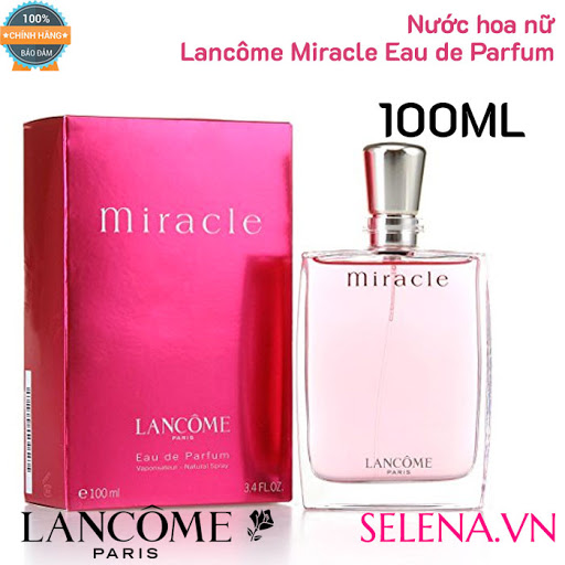 Đánh giá nước hoa Lancôme Miracle dành cho phái đẹp
