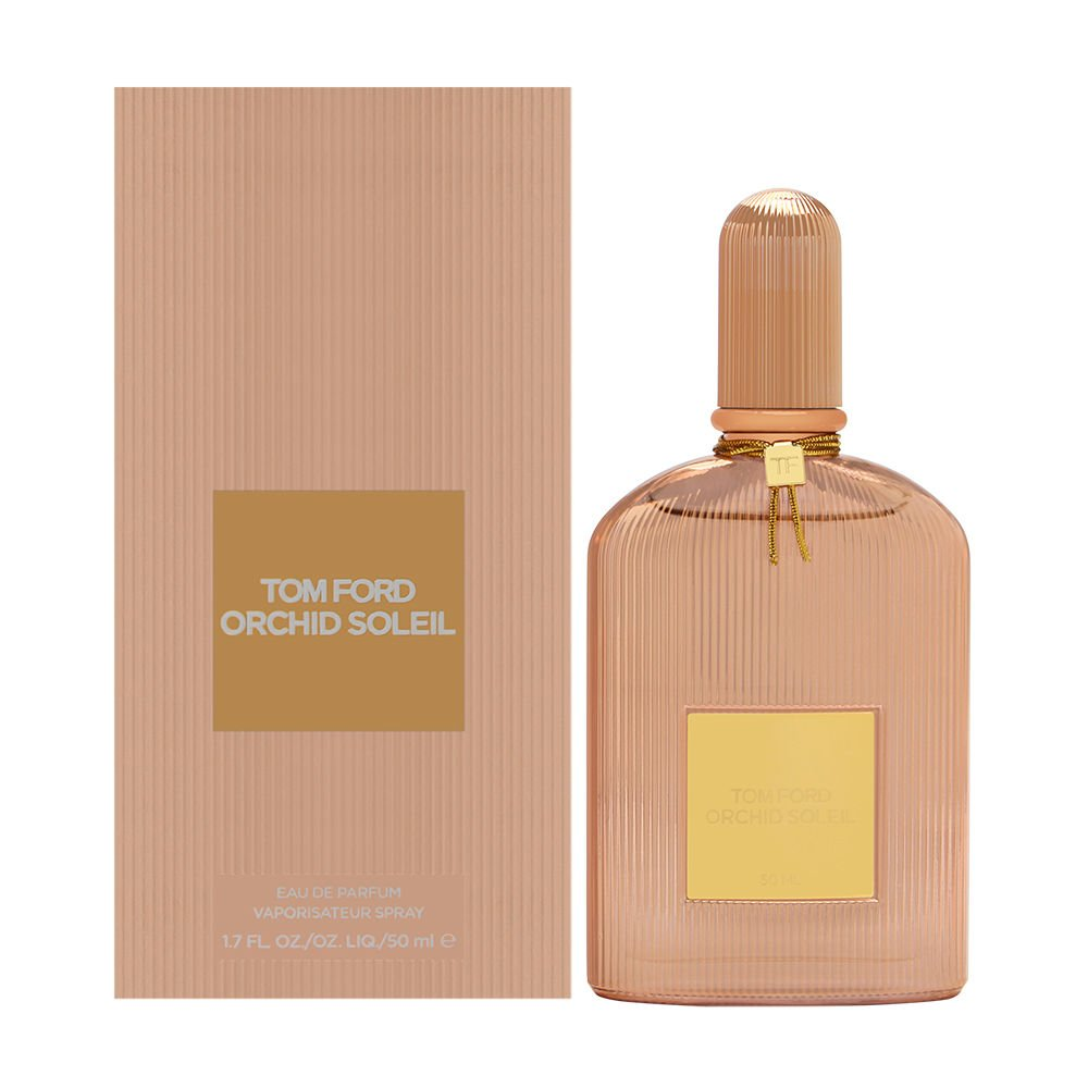 Tom Ford Orchid Soleil có thiết kế tông màu vàng hồng độc đáo,.