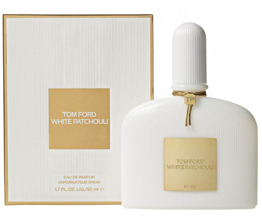 Tom Ford White Patchouli cs thiết kế tông màu trắng tinh tế và sang trọng.