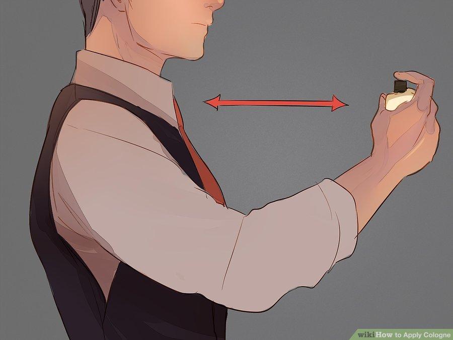 Hướng dẫn cách xịt nước hoa nam chuẩn men 11