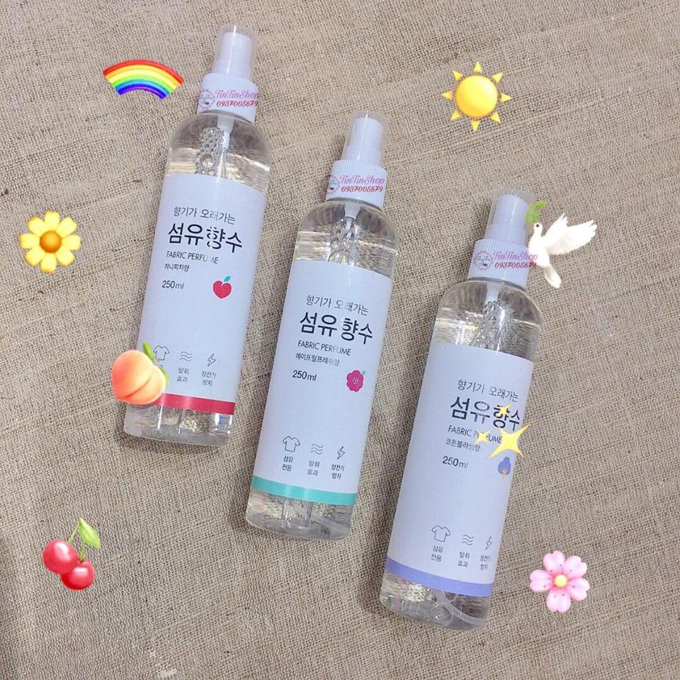 Xịt Thơm Quần Áo Fabric Perfume (250ml) giá tốt